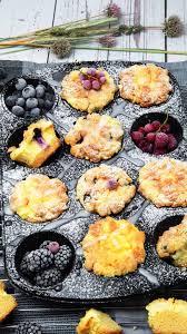 cheesecake muffins mit heidelbeeren lydiasfoodblog