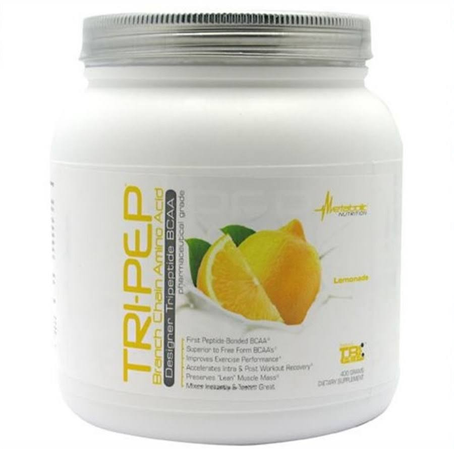 Metabolic Nutrition Tri-Pep Supplement - Lemonade, 400g