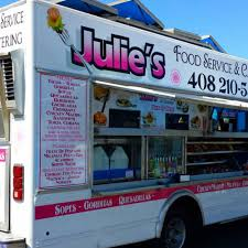Julie's Food Service And Catering - San Jose Food Trucks - Roaming ... Bbq Kalbi San Jose Food Trucks Roaming Hunger 2012 Chevy Wkhorse Truck For Sale In Hello Kitty Dessert Truck Coming To Eat Drink Play Cogswell College On Twitter The Food Is Here At Our New Archives Catering Waffle Amore Pur Some Syrup On Me Earthquakes Advent Calendar Day 5 Center Line Soccer Judies Tacos Locos Saturday Eats Taco Favorites Strike Brewing Co Behind The Hustle Sharon Song Of Twister Off Grid Groundswell Design Group El Monte Mfg Ca Youtube