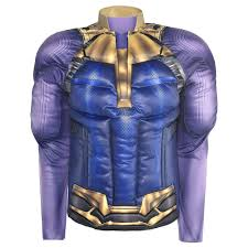 Thanos Muscle Shirt Avengers Infinity War Party City