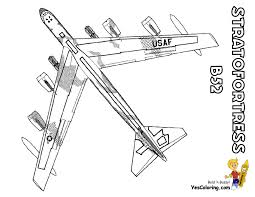Coloring Page Airplane Eskayalitim