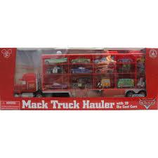 Disney/Pixar Cars Mack Truck Hauler Carrying Case + 15 Die Cast ...