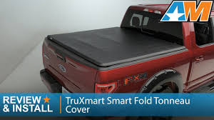 2015-2017 Ford F-150 TruXmart Smart Fold Tonneau Cover Review ...
