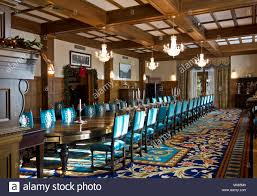 Formal Dining Room In Government House Victoria British Columbia Canada