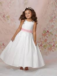 diamond white flower girl dresses kzdress