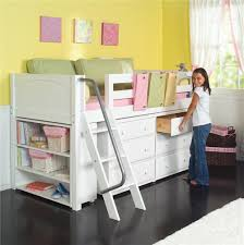 Low Loft Bed With Desk And Storage by Kicks Low Loft Bed With Storage By Maxtrix Sprucing Up The Joint