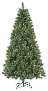 7ft Pre Lit Hard Needle Deluxe Cashmere Pine With 550 Clear Lights