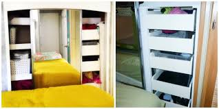 Class C Motorhome With Bunk Beds by Calm The Clutter Rv Storage Solutions And Organization Go Rving