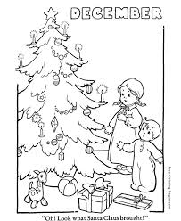 Winter Coloring Book Pages