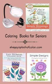 Large Print Coloring Books For Seniors