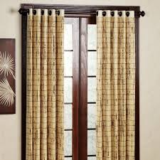 Brylane Home Grommet Curtains by Area Rugs Awesome Bamboo Window Panels Amazing Bamboo Window