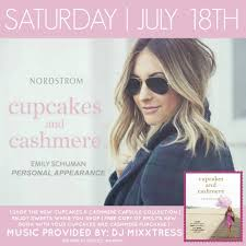 Cupcakes Cashmere Flyer July 18th