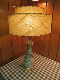Ebay Antique Table Lamps by 25 Best Fiberglass Lamp Shades Images On Pinterest Vintage Lamps