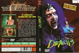 Wnuf Halloween Special by The Horrors Of Halloween Night Of The Demons Trilogy Vhs And Dvd