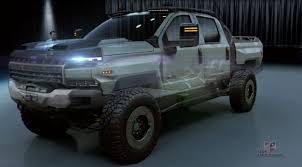 100 70s Chevy Trucks 2018 GM Defense Chevrolet Silverado ZH2 Concept Top Speed