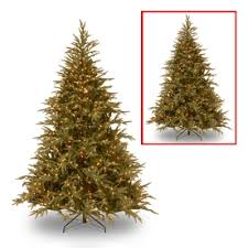 National Tree Company 9 Ft Pre Lit Frasier Fir Artificial Christmas With 1500