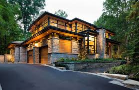 100 Modern Style Homes Design Glass Wood Stone Exterior Style Homes