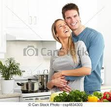 couples amour cuisine amour cuisine cuisine photos de stock