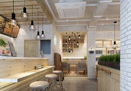 Restaurant Rustic Brick Walls