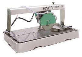 Imer Tile Saw Combi 200 by Diamond Diamond Equipment Tile Saws
