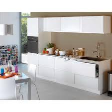 cuisine composer cuisine à composer modèle type blanc bandeau les cuisines