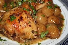 cuisiner haut de cuisse de poulet hydromel et ambroisie haut de cuisse braisés vin blanc moutarde