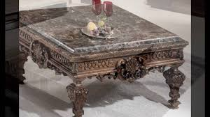granite top coffee table sets