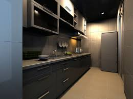 Small One Sided Galley Kitchen 22 Luxury Design Ideas Pictures