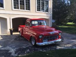 100 1955 Chevy Truck Restoration Restored Chevrolet Pickups 3100 Custom Custom Trucks For Sale