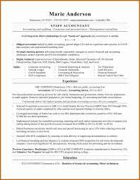 Public Accounting Resume Lovely Samples Canada Elegant Exelent Accountant