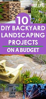 10 DIY Backyard Landscaping Projects On A Budget
