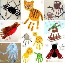 plus de 25 idées uniques dans la catégorie empreintes de mains de