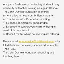 John Dumelo Says He Is Giving Out Full Scholarships To Ghanaian