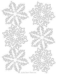 Snowflake Patterns To Print