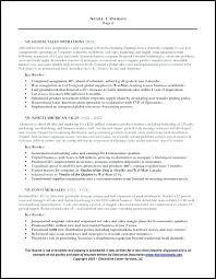General Manager Resume Sample Page 2