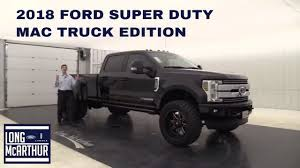 2018 FORD SUPER DUTY MAC TRUCK EDITION - YouTube Hot Products Trailer Mac Ltt Inc Design And Fabrication Of Jennings Trucks Parts Department Matheny Truck Centers Mineral Wells West Virginia Mack Hoods Cluding Ch Visions Rd Isuzu Commercial Dealer In Gainesville Ga New Used This Colorado Yard Has Been Collecting Classic Cars For Wikipedia Used 2000 Mack E7 355380 Truck Engine For Sale In Fl 1067 Musings Of A Motorcycle Aficionado Attack 2017 Ford Super Duty Mac Youtube Athletics Side Angled Psg Automotive Outfitters