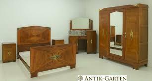 antik schlafzimmer komplett deco nussbaum restauriert 1930