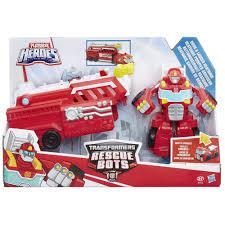 Playskool Heroes Transformers Rescue Bots Rig HOOK & LADDER HEATWAVE ...