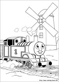 Coloring Page Php Photo Gallery For Photographers Thomas Train Book