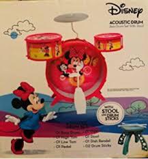 Disney Jr Bathroom Sets by Amazon Com Disney Mickey Mouse Clubhouse Jazz Drum Set With Stool