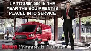 100 Rowe Truck Equipment IRS Section 179 Deduction IRS Section 179 Deduction Benefits
