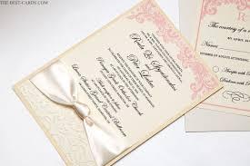 Rose Symphony Wedding Invitation