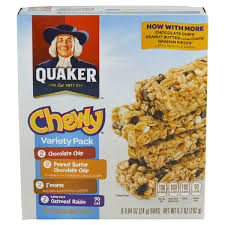 Quaker Chewy Granola Bars Variety Pack 8 Count