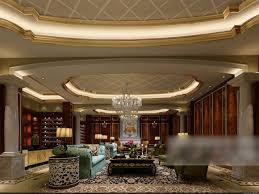 wohnzimmer decke dekoration interieur v3 3d modell max
