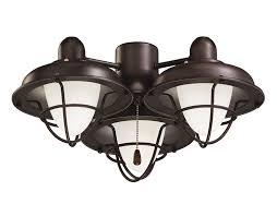 Canarm Ceiling Fan Light Kit by Emerson Ceiling Fan Light Fixtures Lk40orb Boardwalk Cage Ceiling