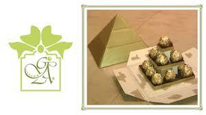 Ferrero Rocher Christmas Tree Box by Ferrero Rocher Pyramid Table Centrepiece The Box Part 1