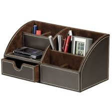 Leather Desk Blotters Uk by Brown Faux Leather Desk Mat Staples
