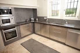 beton ciré mur cuisine réalisations de béton ciré pour des cuisines ou plan de travail
