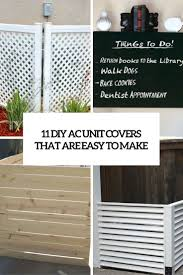 Easy Diy Patio Cover Ideas by Best 25 Ac Unit Cover Ideas On Pinterest Hide Ac Units Pool