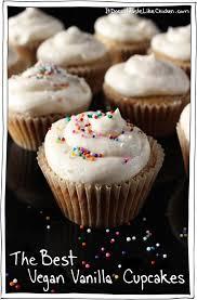 The Best Vegan Vanilla Cake Or Cupcakes Recipe Sweet Buttery